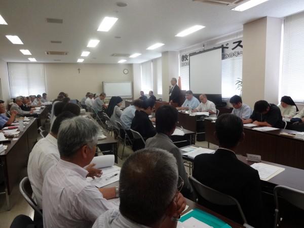 2014.9.14~15教区シノドス(第3会期)DSC00535