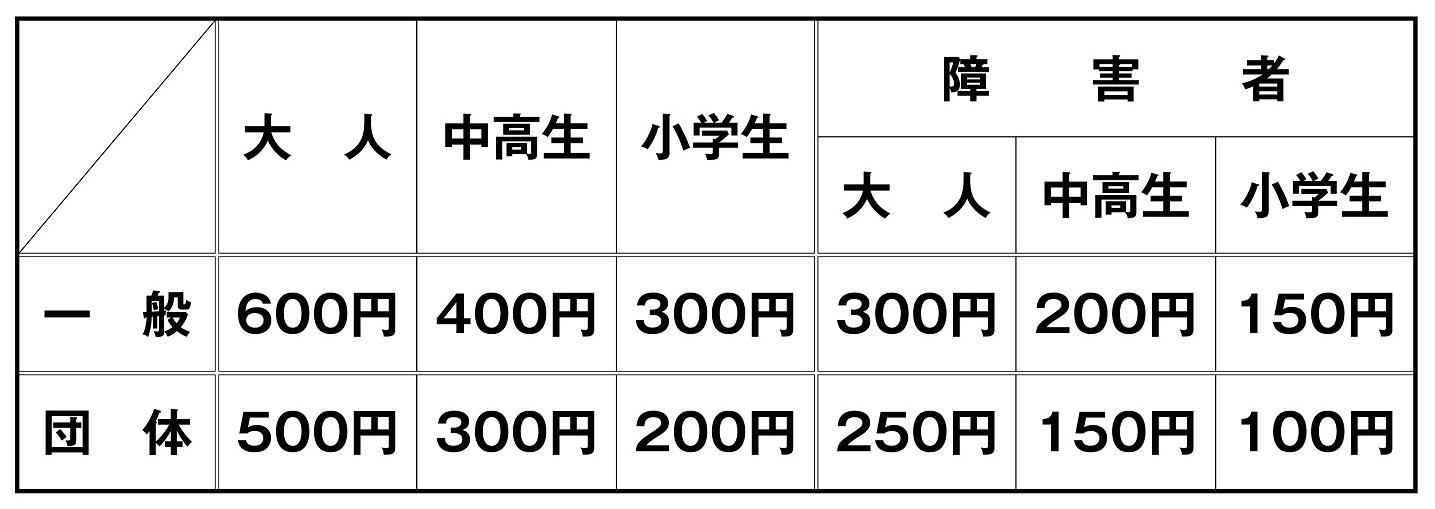 2015.7.1国宝大浦天主堂拝観料の改定についてお知らせ(価格)