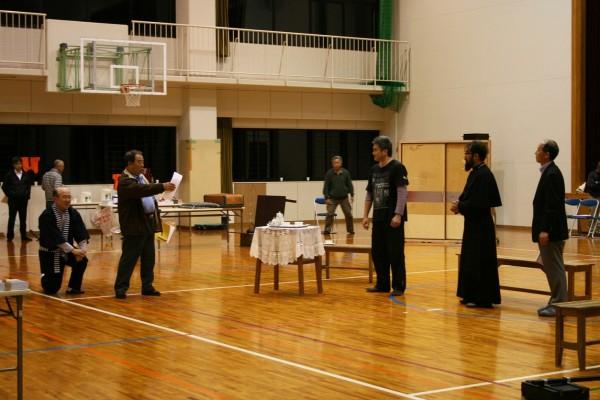 2016-04-01「そして サンタ・マリアがいた」記念劇の練習IMG_0395